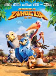 《赞比西亚大冒险 / 赞鸟历险记3D》海报