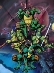 《忍者神龜第二季》海報