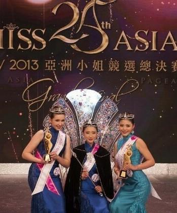 《ATV2013亚洲小姐竞选总决赛晚会》海报