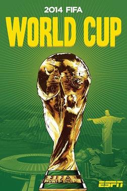 《2014 FIFA巴西世界杯:热爆巴西》海报