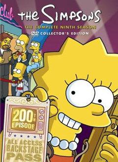 《辛普森一家第九季》海报