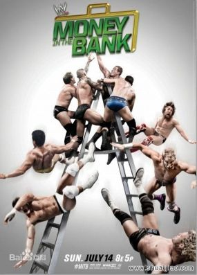 《Money In The Bank(2014)》海報