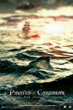加勒比海盗5:死无对证海报