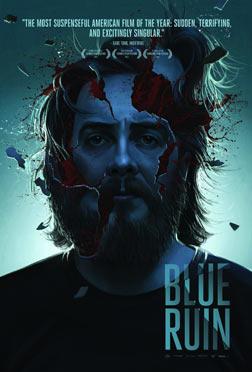 蓝色废墟 海报